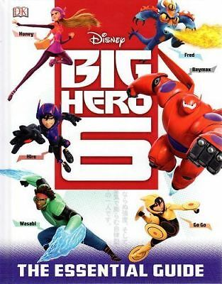 Disney Big Hero 6 Essential Guide (Disney Big Hero 6 Film) New Hardback Book