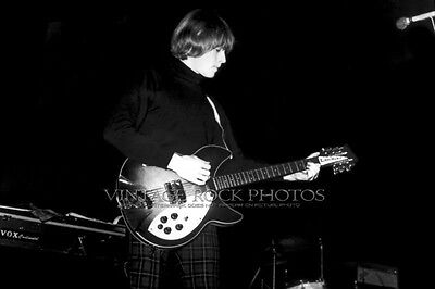Brian Jones Rolling Stones Photo 8x12 or 8x10 inch '60s Vintage Live Concert 130