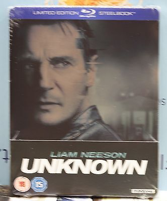 Brand New Unknown Blu-Ray Steelbook! Uk Version! Region B! Factory Sealed