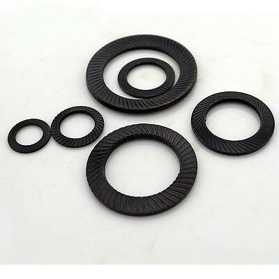 5PCS/20PCS Carbon steel Schnorr Lock Washers M4-M30