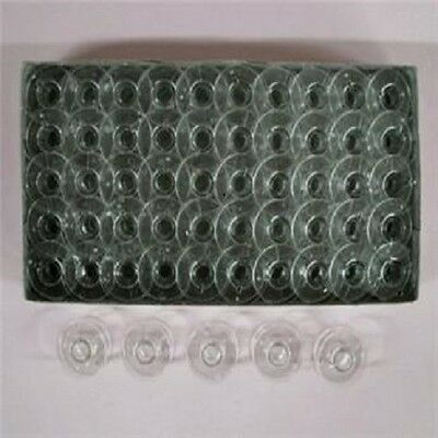 100 Singer Class 15 Sewing Machine Plastic Bobbins #2518P #81348 #SA156