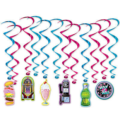 50s Sock Hop 1950s Rock N Roll Party Photo Booth Props Kit 20
