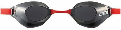 arena anti-fog swimming Goggle non cushion type Smoke x Red AGL120 from Japan