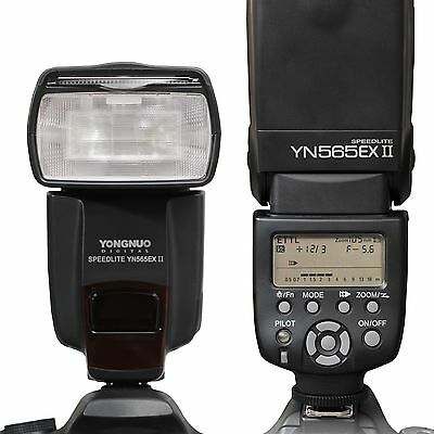 Yongnuo YN-565EX II E-TTL Flash Speedlite For CANON 1200D 7D 6D 5D Mark II/III