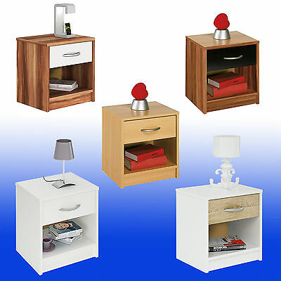 ikea malm nachttisch mit 2 schubladen weis 40cm wie neu eur 22 50 picclick de. Black Bedroom Furniture Sets. Home Design Ideas