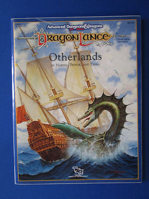 Otherlands DLR1 9278 AD&D Supplemento Con Mappa