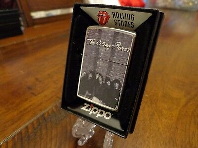 The Rolling Stones Zippo Lighter Mint In Box