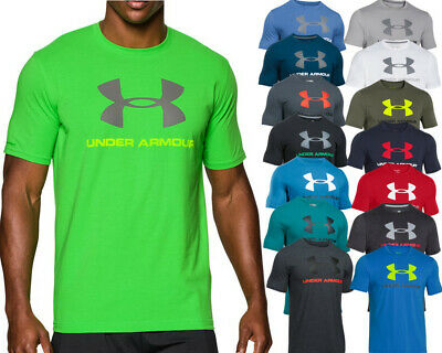 "Under Armour Charged Cotton ""Sportstyle"" T Shirt  - HG Heatgear Funktionsshirt"
