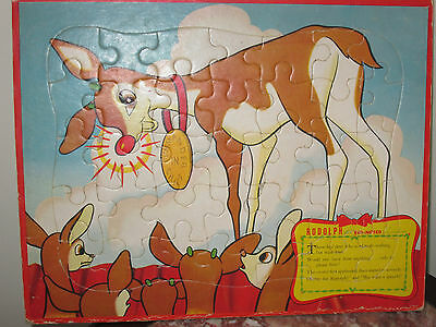50's Rudolph The Red Nosed Reindeer Puzzle