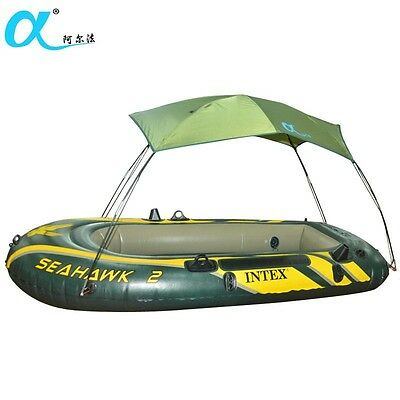 Matine sun shelter fishing tent inflatable boat rubber fishing boat sunscreen