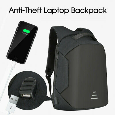 Anti-Theft Backpack Water Repellent Design Travel School Bags With USB Port