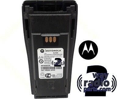 New REAL Motorola Battery NNTN4497CR Factory Fresh! for CP200 XLS PR400(VHF UHF)