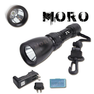 Zoic 2000Lm Cree Xml T6 Waterproof Diving Light Torch Flashlight 8 Modes 100M Oz