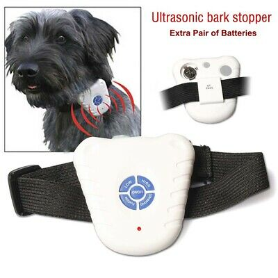 Bark Stopper Pet Dog Training Collar Ultrasonic Anti Barking Stop Control Device
