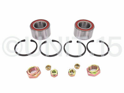 2 x VW Golf MK1 GTI Cabriolet Caddy 1980-1992 Front Wheel bearing Kits