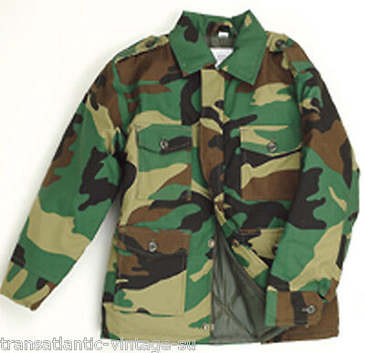 Kids Combat Jacket Childrens Army Clothing Uniform Camo Cadet Camouflage