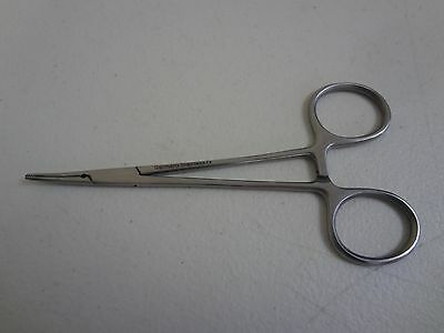 MICRO MOSQUITO HEMOSTAT FORCEPS German Stainless Steel CE Surgical (Curved)