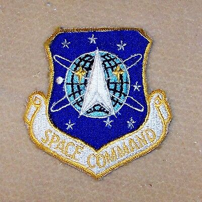 New US Air Force Space Command USAF Patch Dress Uniform Nasa Space Force Program
