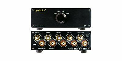 GOLDPOINT SW4 INPUT/OUTPUT SWITCHING CONTROL
