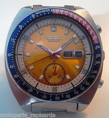 Seiko Chrono Japan Pogue 6139-6005 Automatico Originale