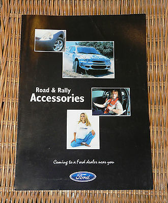 Official Ford Road & Rally Accessories Brochure Ka, Puma, Escort