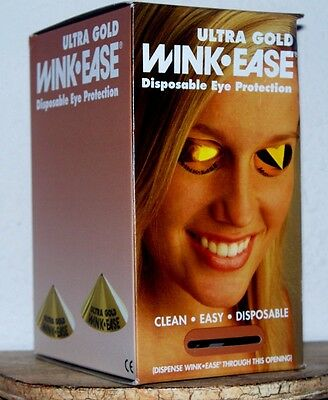 250 Eye Pro Winkease Wink Ease Disposable Eye Goggles Tanning/sunless Protection