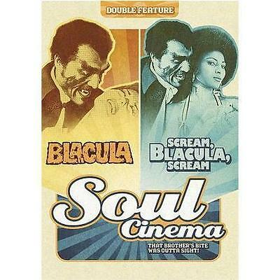 Blacula + Scream Blacula Scream DVD (2 Discs) - SEALED/BRAND NEW -