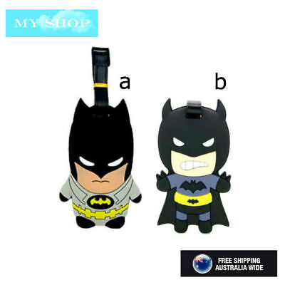 Batman Name Tag, Id Lable For Luggage, Suitcase, School Bag