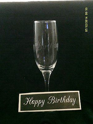 10 - 400 Happy Birthday stencils for etching on glass   craft hobby present gift