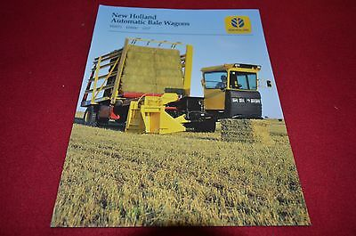 New Holland H9870 H9880 1037 Bale Wagon Dealers Brochure DCPA