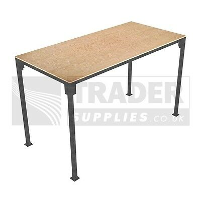 1x Small Portable Table Slot Together Trestle Market Stall Steel Frame Table