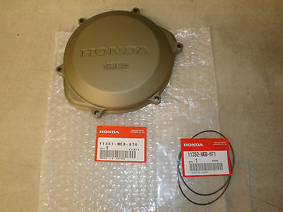 Honda OEM Outer Clutch Cover Right Side 2002-2008 CRF 450R 450 CRF450R w/O-Ring