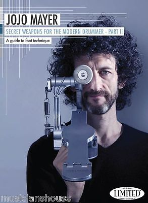 Jojo Mayer Secret Weapons For The Modern Drummer Part II 2 DVD DRUMS TECHNIQUES