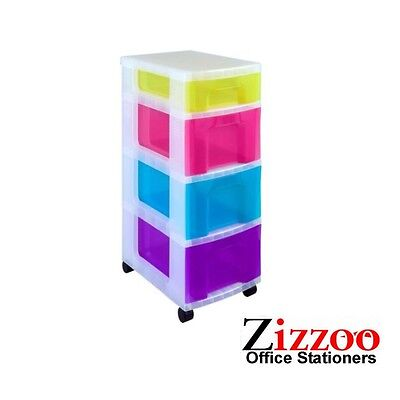Storage Tower With Drawers By Really Useful Great Product + Free P&p!