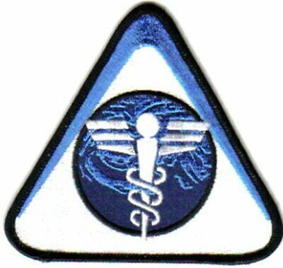 Firefly TV / Serenity Movie Alliance Medical Logo Embroidered Patch, NEW UNUSED