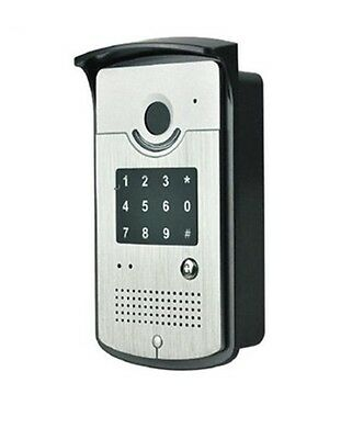SIP Door Intercom - Single button, keypad and card reader - POE - IP53 Rated