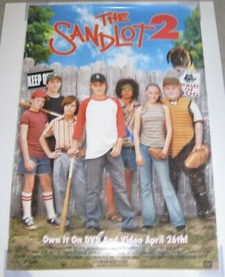THE SANDLOT 2 DVD MOVIE POSTER 1 Sided ORIGINAL 27x40