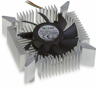 Gelid Solutions Slim Silence AM1 Ultra Quiet PWM Fan CPU Cooler AMD Socket AM1