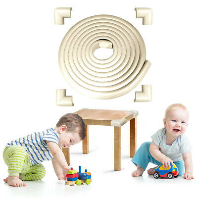 Toddler Baby Kids Safety Soft Foam Table Edge Corner Cushion Protector Guard