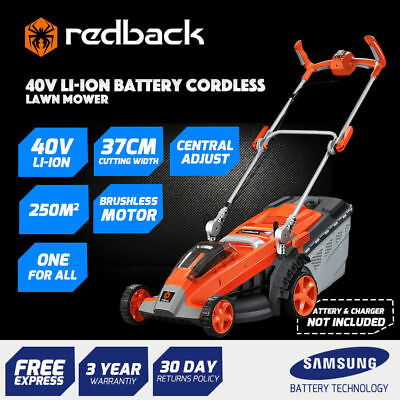 40Volt Electric Cordless Lawn Mower Li-ion Battery Power(Tool Only) - Foldable