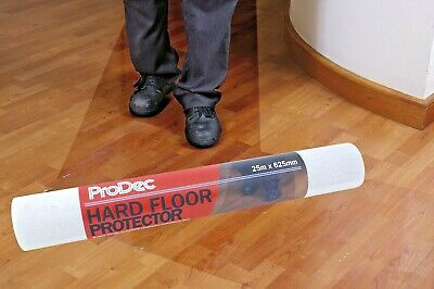 ProDec Self-Adhesive Film 50m x 625mm Hard Floor Protection Laminate (PRHSP50)