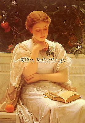 Perugini Charles In The Orangery Artist Painting Oil Canvas Repro Wall Art Deco