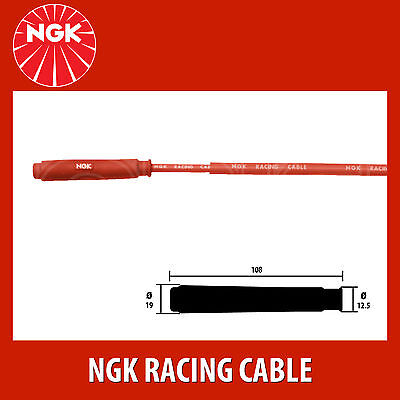 NGK Motorcycle Racing Cable Motorcycle Wire CR1 (8035) - 2 Pack