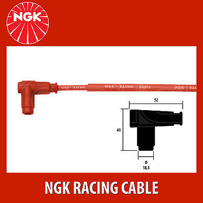NGK Motorcycle Racing Cable Motorcycle Wire CR2 (8048) - 4 Pack