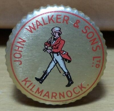 Vhtf Vintage John Walker & Sons Ltd Kilmarnock Lid With Cork