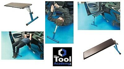 Adjustable Height Mechanic Support Bench Ideal for Working Under Dashboards