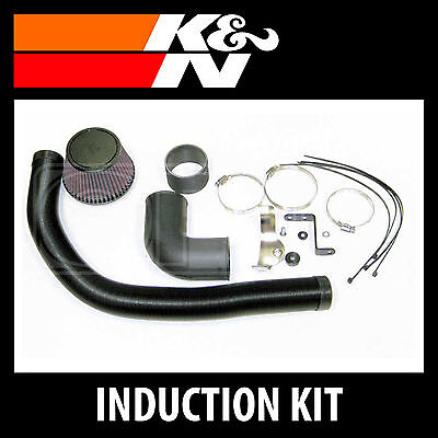 K&N 57i Performance Air Induction Kit 57-0644 - K and N High Flow Original Part