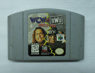 WCW vs. NWO: World Tour Used Game Only   (N64, 1997)