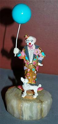 Authentic Collectible Ron Lee Signed 1993 Buster Too Clown Figurine Dh