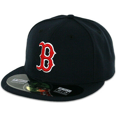 Boston RED SOX GAME Home New Era 59FIFTY Fitted Caps MLB AC On Field Hats